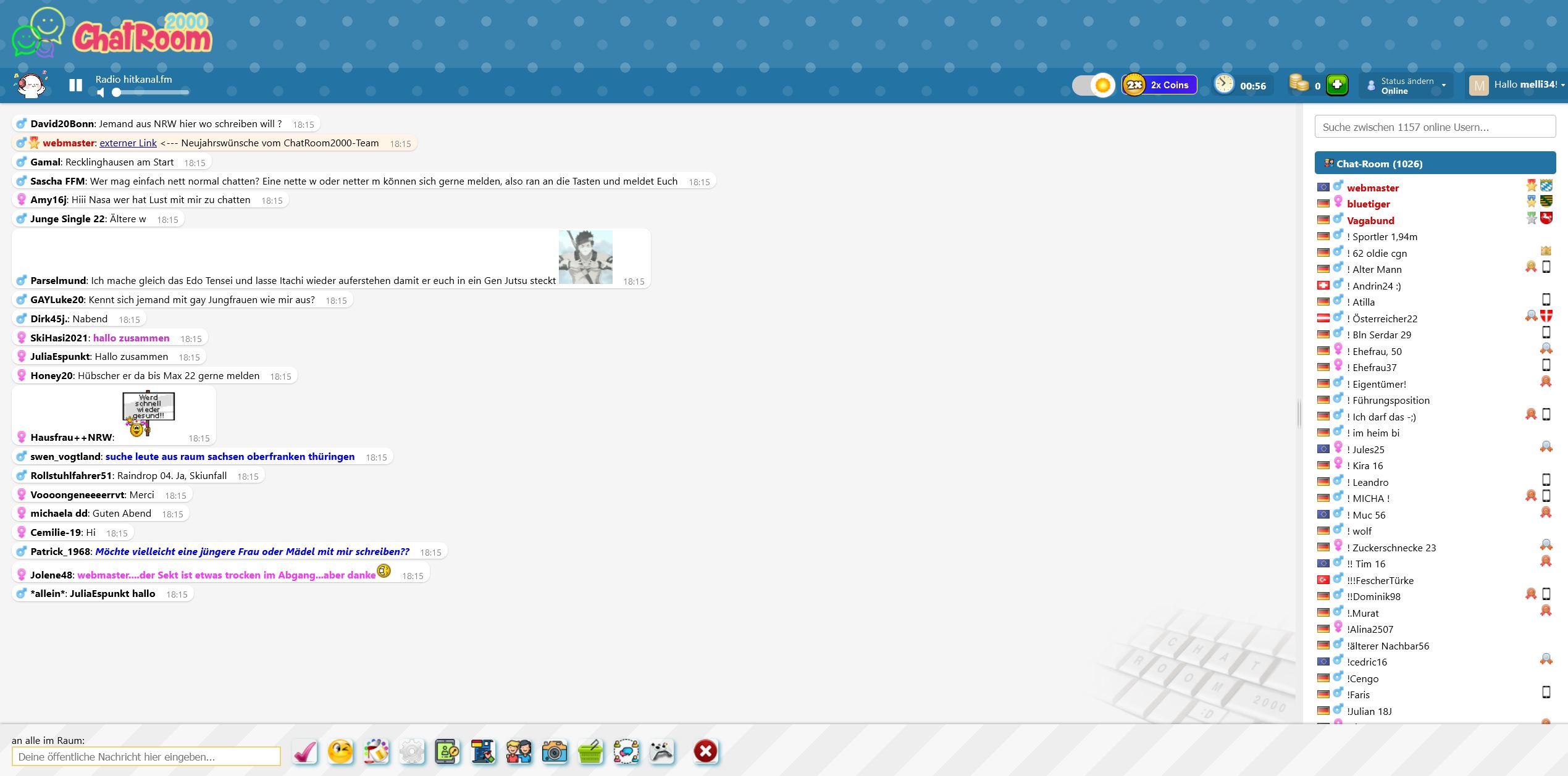 Deutscher Online Chat Chatroom2000