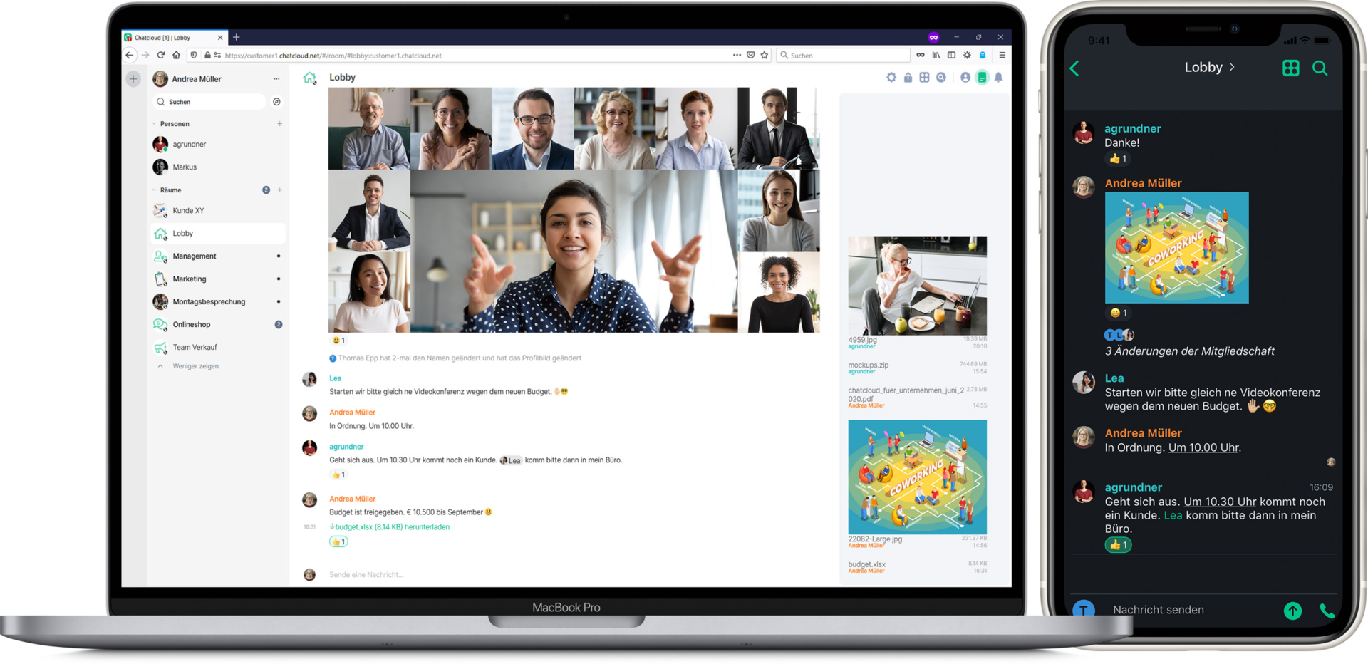 Chatcloud is a free online video chat